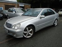 2005 MERCEDES-BENZ C CLASS 2.1 C200 CDI AVANTGARDE SE 4d AUTO 121 BHP £2795.00
