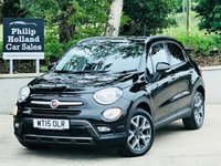 2015 FIAT 500X 1.6 MULTIJET CROSS 5d 120 BHP £9495.00