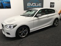 USED 2013 13 BMW 1 SERIES 3.0 M135I 3d AUTO 316 BHP FBMWSH! RED LEATHER! M-PERFORMANCE! LOW MILES!
