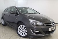 USED 2014 14 VAUXHALL ASTRA 2.0 ELITE CDTI S/S 5DR 163 BHP FULL SERVICE HISTORY + HEATED LEATHER SEATS + CRUISE CONTROL + PARKING SENSOR + MULTI FUNCTION WHEEL + CLIMATE CONTROL + 17 INCH ALLOY WHEELS