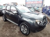 USED 2018 67 DACIA DUSTER 1.2 LAUREATE TCE 5d 125 BHP BLUETOOTH, AIR CONDITIONING, BODY COLOURED BUMPERS, CD PLAYER