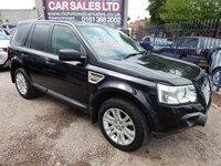 USED 2007 07 LAND ROVER FREELANDER 2.2 TD4 HSE 5d AUTO 159 BHP PANORAMIC SUNROOFS, BLACK LEATHER SPORTS INTERIOR, FULL LANDROVER SERVICE HISTORY