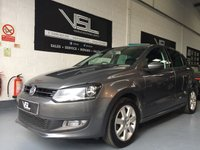 2012 VOLKSWAGEN POLO 1.2 MATCH 5d 59 BHP Bluetooth Telephone £5995.00
