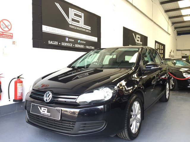 2012 62 VOLKSWAGEN GOLF 1.6 MATCH TDI BLUEMOTION TECHNOLOGY 5d 103 BHP
