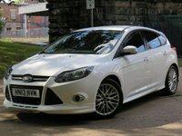 2013 FORD FOCUS 1.6 ZETEC S S/S 5d AUTO 124 BHP £6000.00