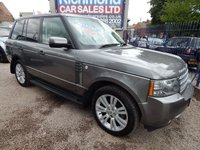 USED 2010 59 LAND ROVER RANGE ROVER 3.6 TDV8 VOGUE 5d AUTO 271 BHP BEIGE LEATHER INTERIOR, SAT NAV, AIR CON, ALLOYS, SERVICE HISTORY, GREAT VALUE