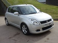 USED 2007 07 SUZUKI SWIFT 1.5 GLX VVTS 5d AUTO 101 BHP GREAT EXAMPLE OF LOW MILEAGE AUTOMATIC +  2 PREVIOUS KEEPERS +  MOT JUNE 2019 +