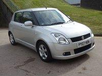 2007 SUZUKI SWIFT 1.5 GLX VVTS 5d AUTO 101 BHP £3000.00