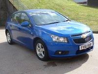 2011 CHEVROLET CRUZE 1.6 LT 5d AUTO 124 BHP £3995.00