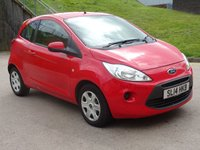 USED 2014 14 FORD KA 1.2 EDGE 3d 69 BHP 1 PREVIOUS KEEPER +   SERVICE RECORD +