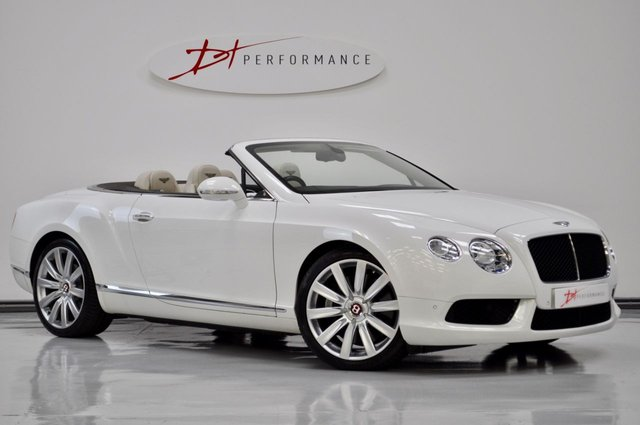2012 62 BENTLEY CONTINENTAL 4.0 GTC V8 2d AUTO 500 BHP STUNNING COLOUR COMBO/BIG SPECIFICATION