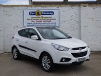 USED 2012 12 HYUNDAI IX35 2.0 PREMIUM CRDI 2WD 5d 134 BHP All Hyundai History Huge Spec 0% Deposit Finance Available