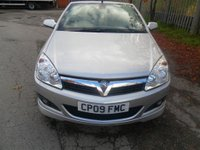 USED 2009 09 VAUXHALL ASTRA 1.8 TWIN TOP EXCLUSIV BLACK 2d 140 BHP