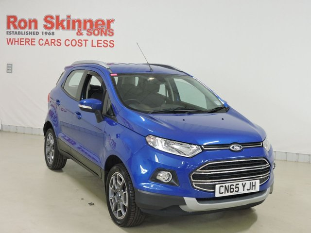 View our 2015 65 FORD ECOSPORT  1.0 TITANIUM 5d 124 BHP