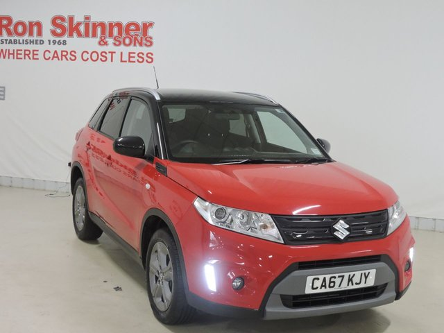 View our 2017 67 SUZUKI VITARA (94)   1.6 SZ-T 5d AUTO 118 BHP with Black Roof