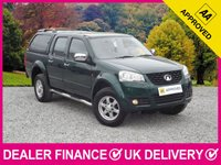 USED 2013 62 GREAT WALL STEED 2.0 TDI DOUBLE CAB HARDTOP CANOPY 4WD 140 BHP LEATHER HARDTOP CANOPY HEATED LEATHER AIR CONDITIONING