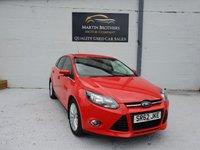 2013 FORD FOCUS 1.6 ZETEC 5d AUTO 124 BHP £6995.00