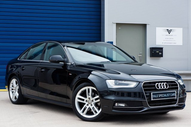 2014 14 AUDI A4 2.0 TDI S LINE (s/s) AUTO (TECH PACK HIGH)
