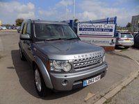2012 LAND ROVER DISCOVERY 3.0 4 SDV6 HSE 5d AUTO 255 BHP £17995.00