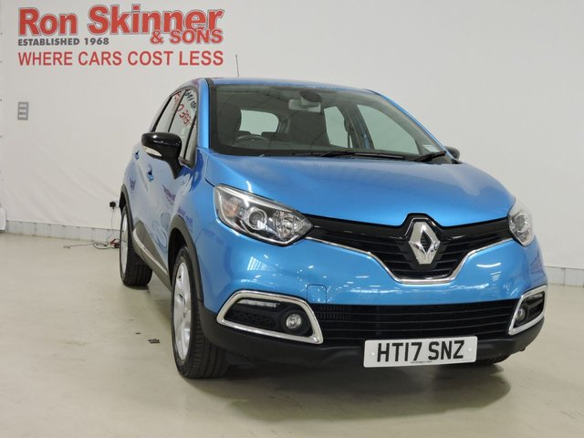 View our 2017 17 RENAULT CAPTUR 1.5 DYNAMIQUE MEDIANAV ENERGY DCI S/S 5d 110 BHP