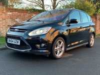 USED 2014 64 FORD C-MAX 1.6 TITANIUM X TDCI 5d 114 BHP 2 OWNWERS, FULL SERVICE HISTORY, 1YR MOT, £30 ROAD TAX, EXCELLENT CONDITION, ALLOYS, AIR CON, CRUISE, PANORAMIC ROOF, BLUETOOTH,  FOGS, RADIO CD, E/WINDOWS, R/LOCKING, FREE WARRANTY, FINANCE AVAILABLE, HPI CLEAR, PART EXCHANGE WELCOME,