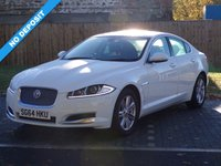 USED 2014 64 JAGUAR XF 2.2 D LUXURY 4d AUTO 163 BHP PRICE BLITZ REDUCED BY £500 .............ABSOLUTELY STUNNING LOOKING CAR !!!
