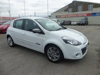 USED 2012 12 RENAULT CLIO 1.1 DYNAMIQUE TOMTOM 16V 5d 75 BHP SH * BLUETOOTH * GOT BAD CREDIT * WE CAN HELP *