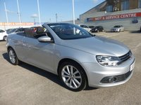 USED 2011 11 VOLKSWAGEN EOS 1.4 SE TSI 2d 158 BHP CONVERTIBLE * MEDIA CONNECTION * BAD CREDIT * APPLY NOW