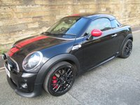 2012 MINI COUPE 1.6 JOHN COOPER WORKS 2d 208 BHP £9100.00