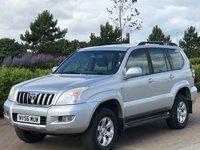 2007 TOYOTA LAND CRUISER 3.0 LC3 8-SEATS D-4D 5d 164 BHP £8695.00