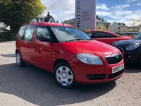 USED 2007 07 SKODA ROOMSTER 1.4 1 16V 5d 85 BHP +++NEW MOT+++EXCELLENT SPACIOUS FAMILY CAR+++