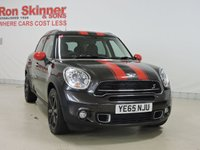 USED 2015 65 MINI COUNTRYMAN 2.0 COOPER SD 5d AUTO 141 BHP with CHILI + Media Pack + Leather + Rear Privacy