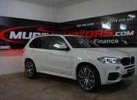 USED 2015 BMW X5 3.0 XDRIVE30D M SPORT ALPINE WHITE 7 SEATER