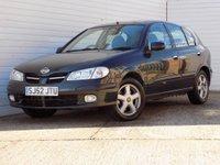 2002 NISSAN ALMERA 1.5 SE 5d 88 BHP £689.00