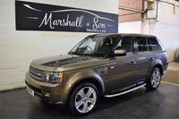 USED 2011 11 LAND ROVER RANGE ROVER SPORT 3.0 TDV6 HSE LUX 5d AUTO 245 BHP