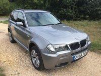 2006 BMW X3 2.0 D M SPORT 5d 148 BHP £4990.00