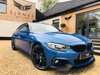 2015 BMW 4 SERIES 3.0 435D XDRIVE M SPORT 2d AUTO 309 BHP £22990.00