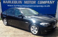 2012 BMW 5 SERIES 2.0 520D EFFICIENTDYNAMICS 4d 181 BHP £7999.00