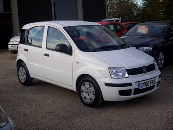 2010 FIAT PANDA 1.1 Active Eco 5 Door Hatchback In White £2995.00