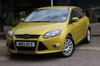 2012 FORD FOCUS 1.6 TITANIUM 5d 148 BHP £6495.00
