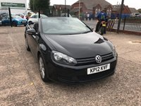 USED 2012 12 VOLKSWAGEN GOLF 1.6 SE TDI BLUEMOTION TECHNOLOGY 2d 104 BHP FULL SERVICE HISTORY-SAT NAV-BLUETOOTH-POWER HOOD-£30 ROAD TAX-CAMBELT CHANGED IN 2017