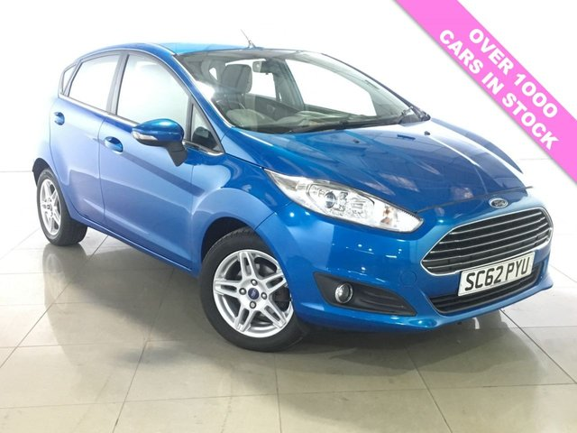 View our 2013 62 FORD FIESTA 1.0 ZETEC 5d 79 BHP