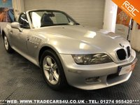 USED 2000 X BMW Z3 2.0 Z3 ROADSTER  UK DELIVERY* RAC APPROVED* FINANCE ARRANGED* PART EX