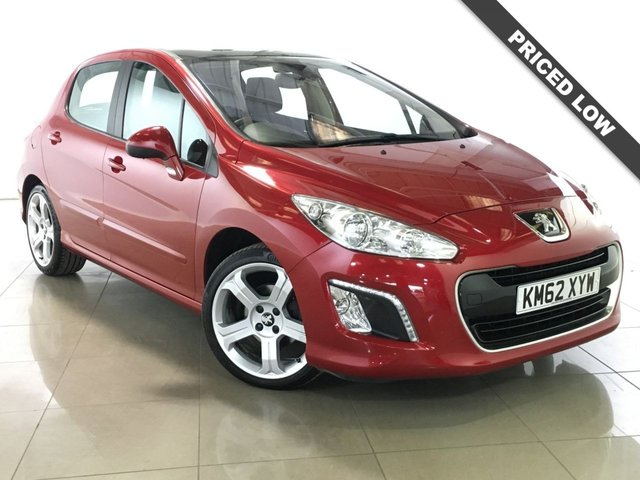 View our 2012 62 PEUGEOT 308 1.6 E-HDI ALLURE 5d 112 BHP