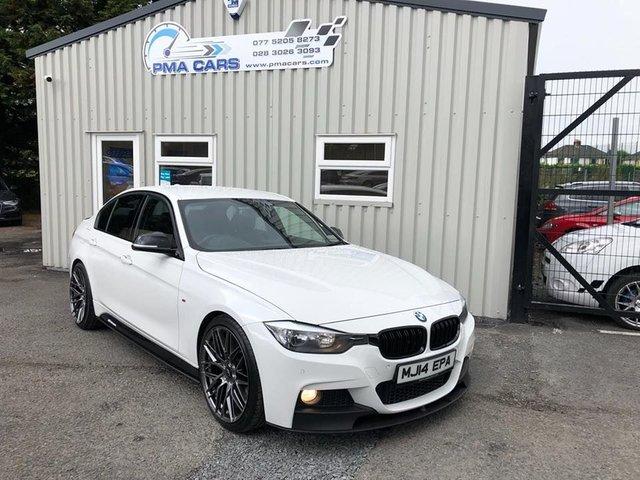 2014 14 BMW 3 SERIES 3.0 330D M SPORT AUTO 255 BHP SALOON