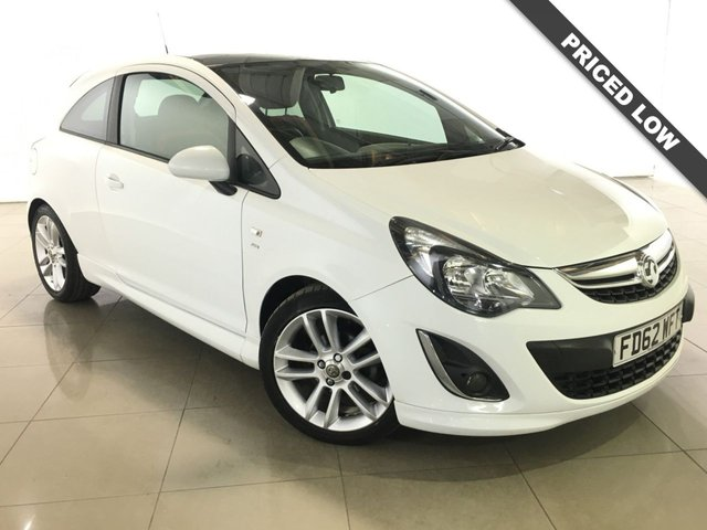 View our 2013 62 VAUXHALL CORSA 1.4 SRI 3d 98 BHP