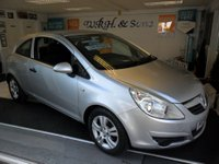 USED 2009 58 VAUXHALL CORSA 1.2 ACTIVE 3d 80 BHP