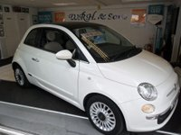 USED 2011 11 FIAT 500 1.2 LOUNGE 3d 69 BHP