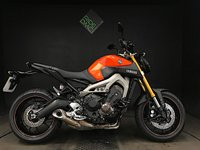 2014 YAMAHA MT 09 ABS. 14. 2 OWNERS. 5517 MILES. VERY TIDY BIKE.  £4998.00