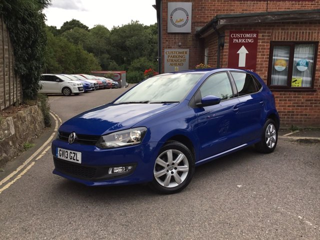 2013 13 VOLKSWAGEN POLO 1.2 MATCH EDITION 5d 59 BHP